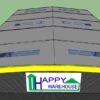 โรงงานสำเร็จรูป HW-H 18x30x8 m.